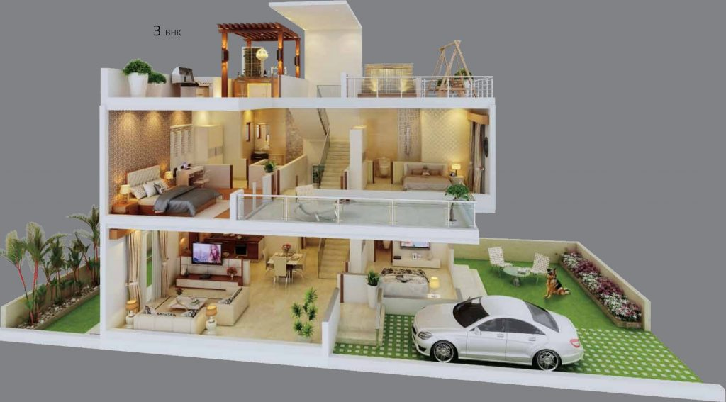 Ivy VIlla Cross section view